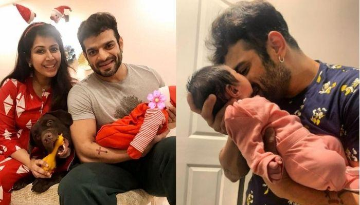 Karan Patel Gets A Cute Gift From His 11-Months-Old Daughter, Mehr On His 37th Birthday [Picture]
