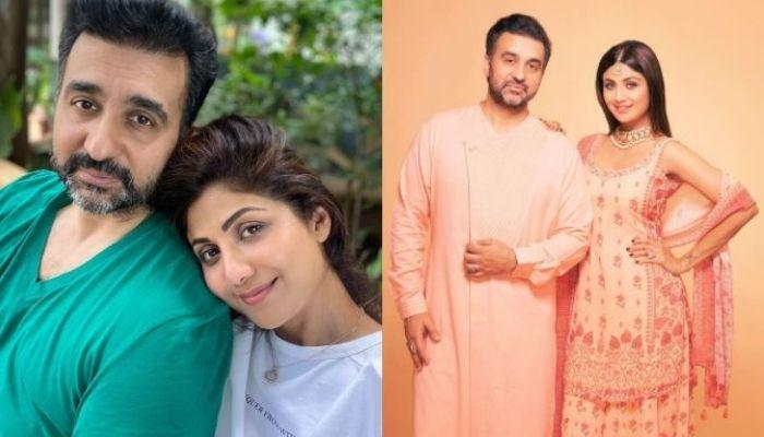 Shilpa Shetty's Hubby, Raj Kundra Shares A Selfie With Her, Pens An Advice For Every 'Single' Person
