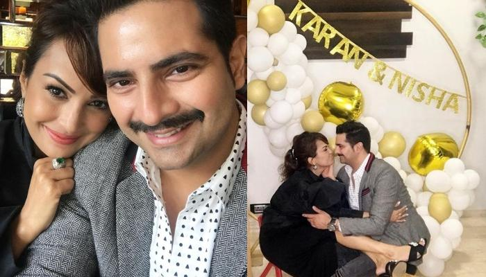 Karan Mehra And Nisha Rawal Celebrate 8th Wedding Anniversary, Share Photoshoot Pictures With Kavish