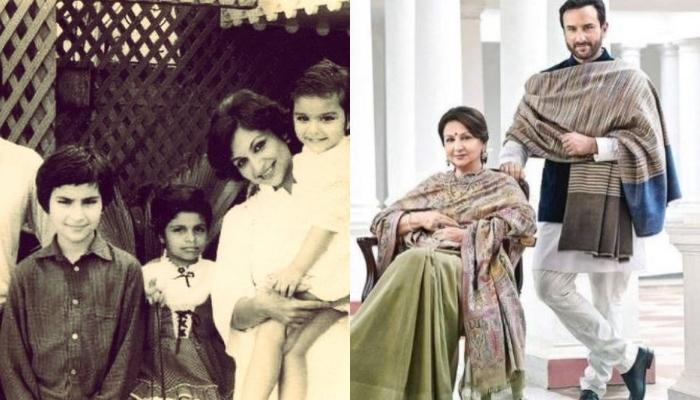When Sharmila Tagore Talked About Son, Saif Ali Khan's Second Mother And Her Help In His Upbringing