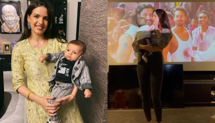 Natasa Stankovic Dances With Her Baby Boy, Agastya On 'Jai Jai Shiv Shankar' Song [Video Inside]