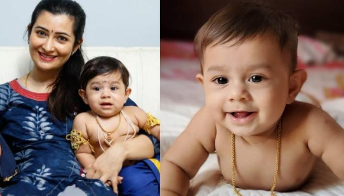 Yash And Radhika Pandit's Son, Yatharv Is A Carbon Copy Of His Mother, She Proves It With A Collage