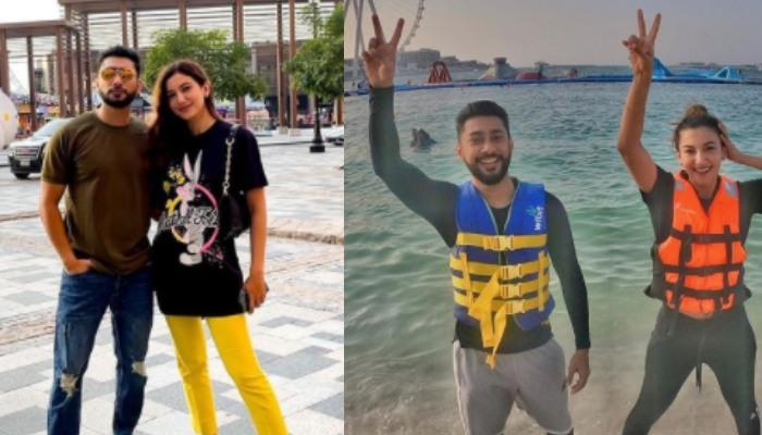 Gauahar Khan Shares A Picture With Zaid Darbar From Their Dubai Diaries, Look Stunning Together
