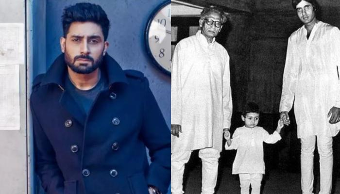 On Harivansh Rai Bachchan's Birth Anniversary, His Grandson, Abhishek Bachchan Shares Emotional Note