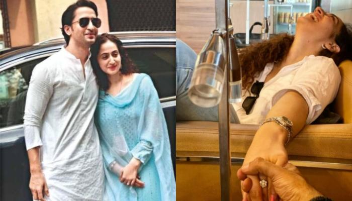 Ruchikaa Kapoor Drops A 'Happily Ever After' Picture With Husband, Shaheer Sheikh Post-Wedding