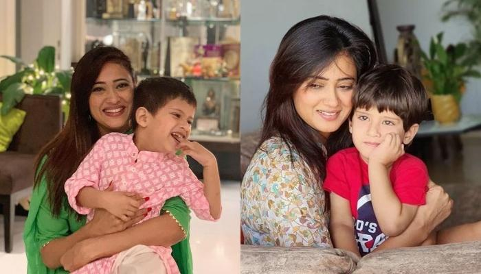 Shweta Tiwari Wishes Her 'Whole Heart', Little Reyansh Kohli On His Birthday, Drops Cute Pictures