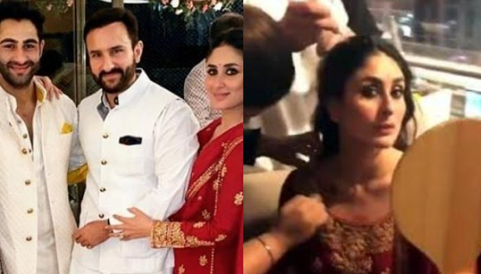 When Kareena Kapoor Khan Turned Bengaluru Airport Into A Makeup Room For Armaan Jain's Roka Ceremony