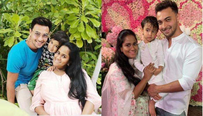 Arpita Khan Flaunts Her Hot Hubby, Aayush Sharma's 'Bare Back' Thanks Him For Always Having Her Back
