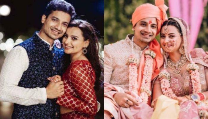 'Mirzapur 2' Fame, Priyanshu Painyuli Gets Married To GF, Vandana Joshi, Wedding Album Inside