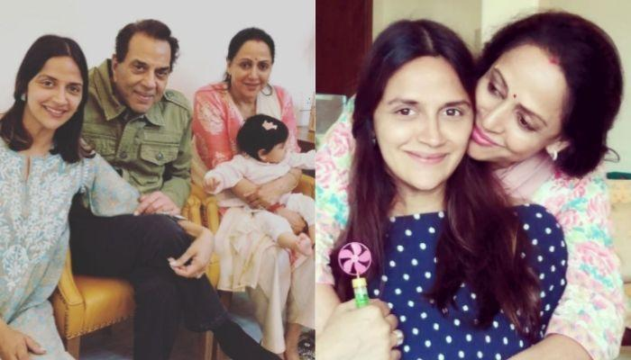 Hema Malini Reveals Fourth-Time-'Nanu', Dharmendra's Reaction On Having Twin Granddaughters