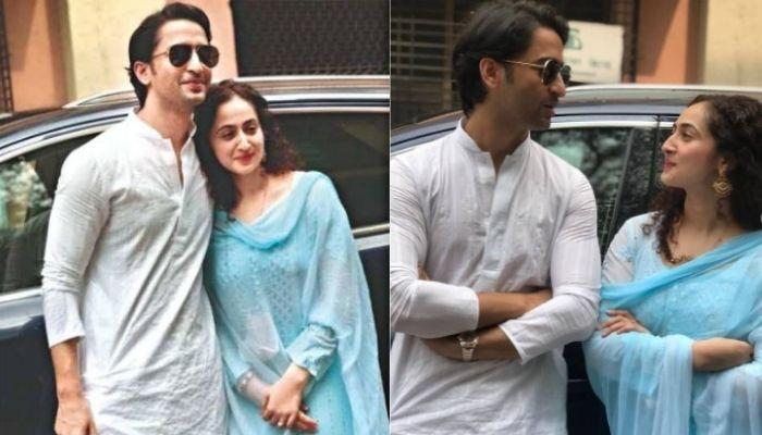 Shaheer Sheikh Shares A Picture Of Wife, Ruchikaa Kapoor, Plans To Reveal Their Love Story Soon