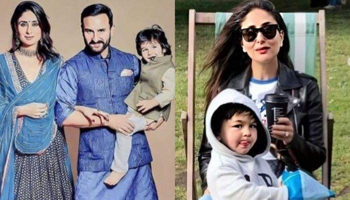 Kareena Kapoor Shares A Family Photo From Dharamshala, Reveals Her And Taimur's Favourite Sneakers