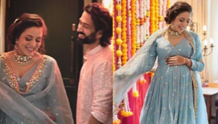'Ishqbaaaz' Fame, Nakuul Mehta Grooved With Wife, Jankee On A Romantic Song On Her Godh Bharai Rasam