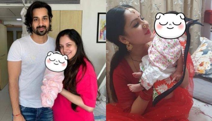 Puja Banerjee And Kunal Verma Host A Grand 'Naamkaran Sanskar' For Their Baby Boy [Videos Inside]