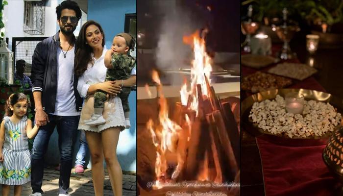 Shahid Kapoor And Mira Kapoor's Lohri 2020 Celebration Pictures, We Miss Kids Misha And Zain Kapoor