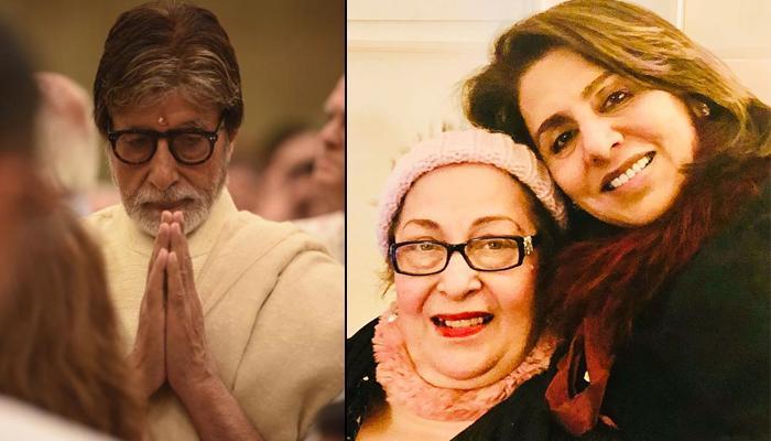 Amitabh Bachchan Informs His 'Samdhan', Ritu Nanda's Demise, Neetu Kapoor Too Pens A Condolence Note