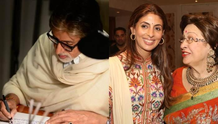 Amitabh Bachchan Pens An Eulogy For Daughter, Shweta Bachchan Nanda's Late Mother-In-Law, Ritu Nanda