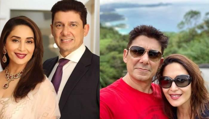 Madhuri Dixit Nene Twins With Hubby, Sriram Nene, Their Picture Is Filled With Love And Couple Goals