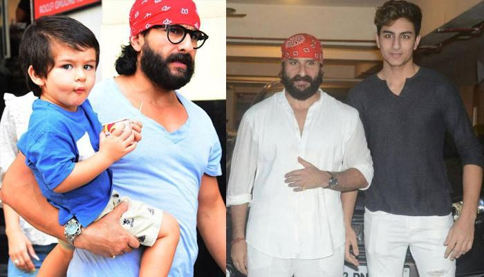 Saif Ali Khan Gave An EPIC Response When Asked About Going Pub With Taimur Ali Khan And Ibrahim