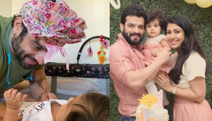 Karan Patel Shows How Mehr Is The Perfect Blend Of Him And Ankita Bhargava And We Totally Agree