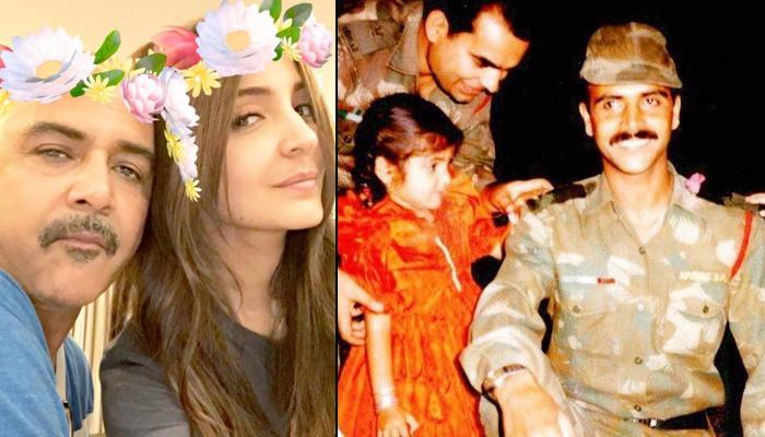 Anushka Sharma Pens A Heartfelt Note Expressing How Proud She Is Of Her Papa Ajay Sharma On Army Day
