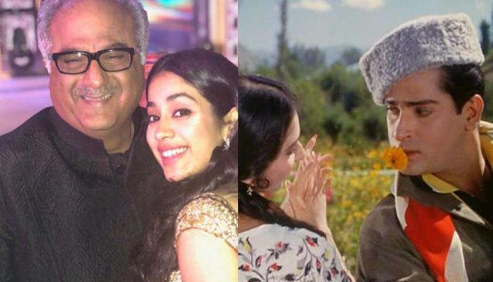 Janhvi Kapoor Thrilled To See Father, Boney Kapoor In Shammi Kapoor's Iconic Look From 'Junglee'