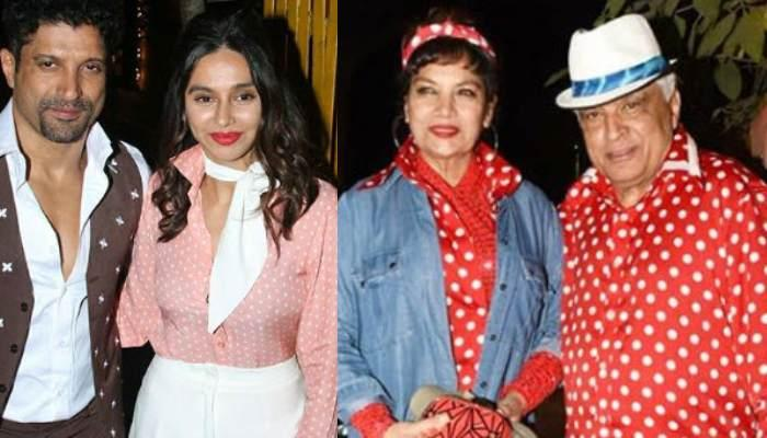 Farhan Akhtar And Shibani Dandekar Recreate 'Don' Look For Javed Akhtar's Retro-Themed Birthday Bash
