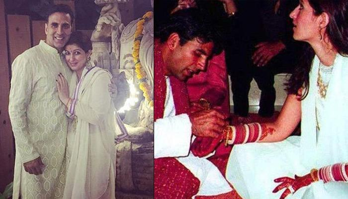 Akshay Kumar Wishes Twinkle Khanna On Their Wedding Anniversary With 'A Visual Of Married Life'