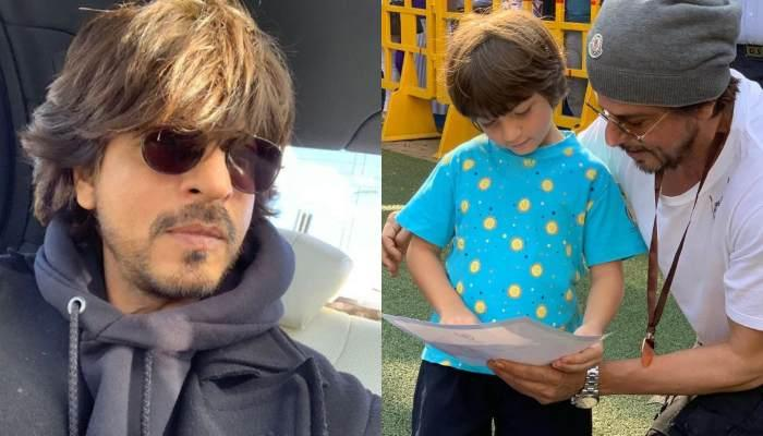 Shah Rukh Khan Shares A Picture Of His Son, AbRam Khan With His Silver And Bronze Medals