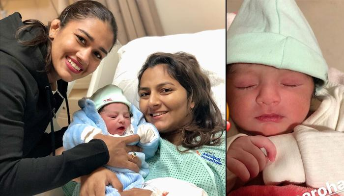 Geeta Phogat Announces The Name Of Her Newborn Son With A Lovely Picture That Exudes 'Maa Ki Mamta'