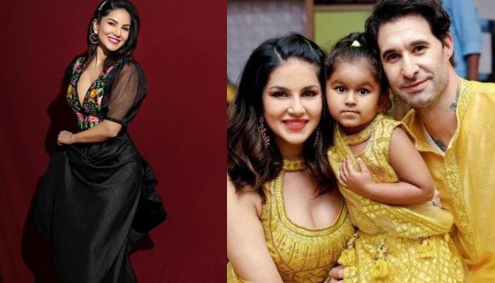 Sunny Leone Shares A Monochrome Picture Of Herself Snuggling Her Daughter, Nisha Kaur Weber