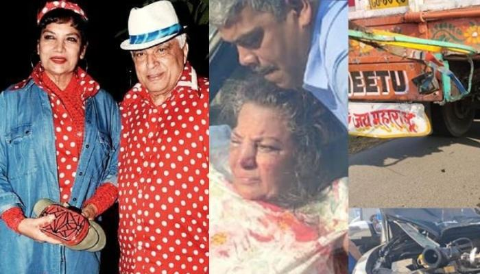 Shabana Azmi And Her Husband, Javed Akhtar Met With A Road Accident, Actress Sustains Injuries