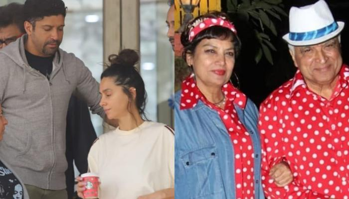 Farhan Akhtar Visits Step-Mother, Shabana Azmi At The Hospital With His Girlfriend, Shibani Dandekar