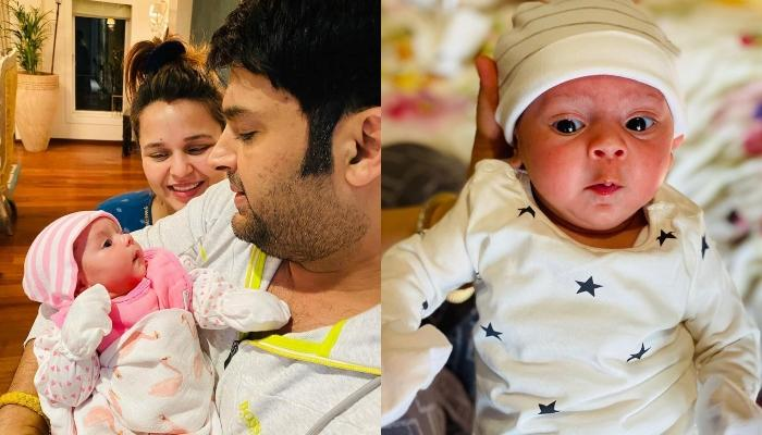 Kapil Sharma And Ginni Chatrath Get Their 1-Month-Old Baby Girl, Anayra's Hand And Feet Impression