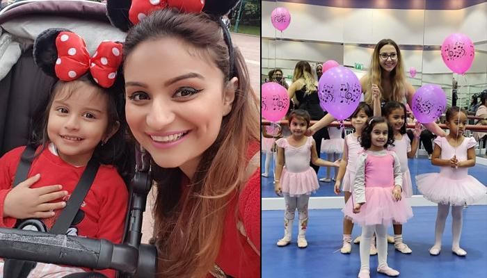 Dimpy Ganguly Proudly Gives Glimpses Of Her Little 'Ballerina' Reanna Roy Performing Ballet Of Swans