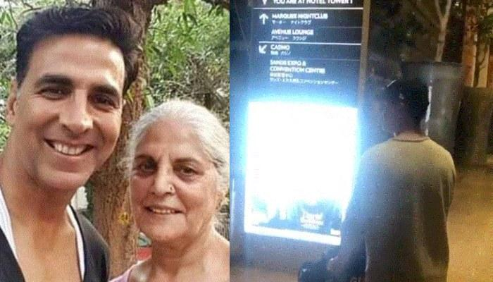 Akshay Kumar Taking His Mom To Her Favourite Place In The World Is Every Mom's Wish From Their Son