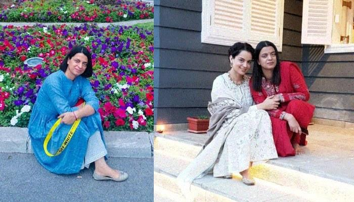 Rangoli Chandel Thanks Her 'Chotu', Kangana Ranaut For Helping Her After The Horrific Acid Attack