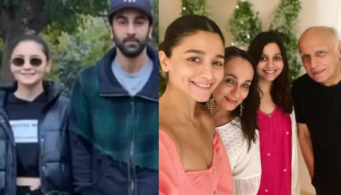 Ranbir Kapoor And Alia Bhatt Look Adorable As They Pose With Family In This Throwback Picture