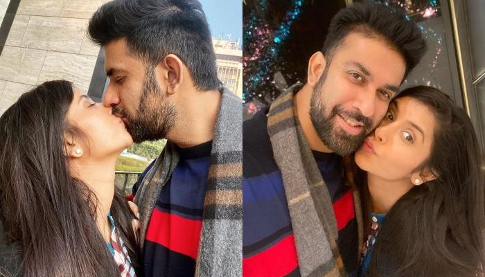 Rajeev Sen And His Wife, Charu Asopa Are Enjoying 'Dilli Ki Sardi', Former Shares A Liplock Picture