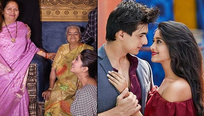 Shivangi Joshi's Nani Showers Blessings On Her Beau Mohsin Khan On 'Yeh Rishta Kya Kehlata Hai' Sets