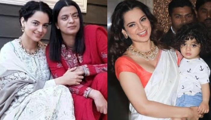 Kangana Ranaut Reveals Her Sister, Rangoli Feared That Media Will Assume Prithvi Is The Actress' Son