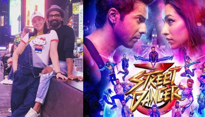 Remo D'Souza's Wife, Lizelle Is 'Proud' Of Him As 'Street Dancer 3D' Poster Featured On Times Square