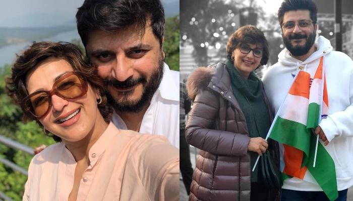 Sonali Bendre Shares Husband, Goldie Behl's Childhood Picture To Wish Him On His Birthday