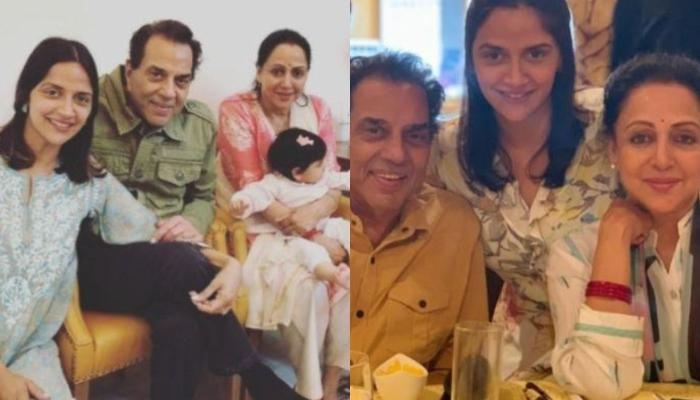 Hema Malini Reveals Dharam Ji Has Not Seen Their Daughter, Ahana Deol's Twin Babies Yet