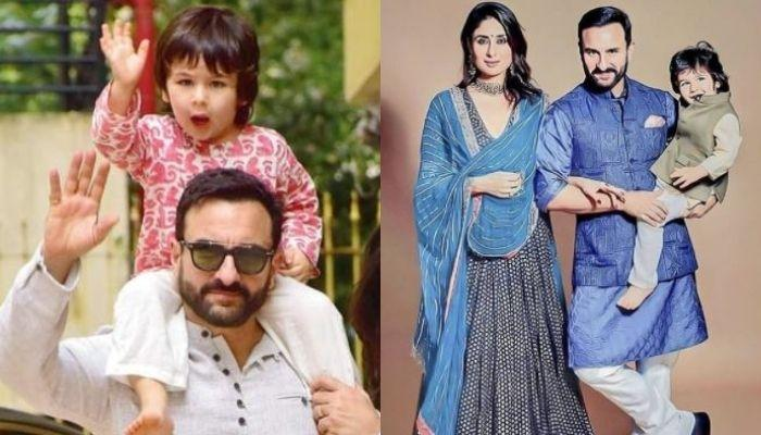 Taimur Ali Khan And Saif Ali Khan Spotted Wearing Same Pullover In Pictures Shared By Kareena Kapoor