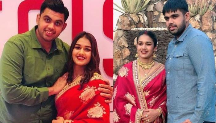 Babita Phogat Shares Unseen Wedding Photos With Hubby Vivek Suhag On Their First Wedding Anniversary