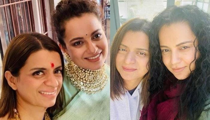 Kangana Ranaut Wishes Rangoli Chandel On Birthday, Introduces A New Addition To Her Sister's Family