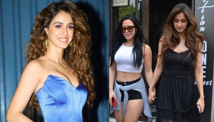 Disha Patani Parties With Could-Be Future 'Nanad', Krishna Shroff, The Two Look Inseparable