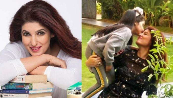 Twinkle Khanna Dedicatedly Combing Daughter, Nitara's Immaculately-Groomed Hair Is A Sight To Behold