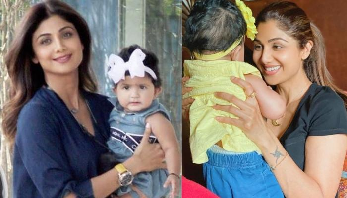 Samisha Shetty Kundra Twinned With Shilpa Shetty Kundra On Her Annaprashan, Star Mommy Gave Glimpse